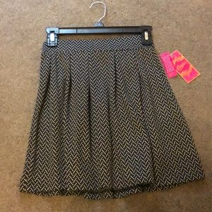 NWT Black and Grey Skirt